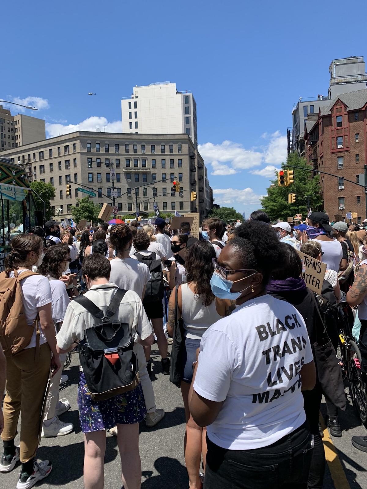 Phara at Black Trans Lives Matter